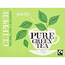 Clipper Fairtrade Pure Green 80 Tea Bags 160g