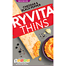 Ryvita Thins Cheddar & Cracked Black Pepper Flatbreads 125g