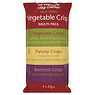 Glennans The Vegetable Crisp Company Hand Cooked Vegetable Crisp Multi Pack 6 x 27g Beetroot Crisps