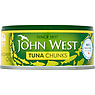 John West Tuna Chunks in Sunflower Oil 145g