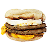 McDonald's Double Sausage & Egg McMuffin