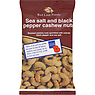 Red Lion Foods Sea Salt and Black Pepper Cashew Nuts 100g
