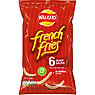 Walkers French Fries Ready Salted Snacks 6x18g