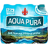 Aqua Pura Still Natural Mineral Water 12 x 500ml