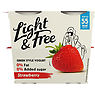 Light & Free Strawberry 0% Fat & 0% Added Sugar Yogurt 4 x 115g