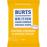 Burts British Hand Cooked Potato Chips Mature Cheddar & Spring Onion 40g