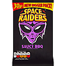 Space Raiders Saucy BBQ Flavour Cosmic Corn Snacks 25g