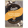 Epicure Organic Butter Beans in Water 400g
