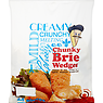 Golden Crumb Chunky Brie Wedges 24 Pieces