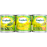 Bonduelle Garden Peas, Crunchy Sweetcorn and Extra Small Petits Pois and Baby Carrots 3 Pack Crunchy Sweetcorn 150g