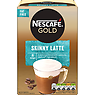 NESCAFE GOLD Skinny Latte Coffee, 8 Sachets x 19.5g