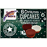 The Fabulous Bakin' Boys 6 Christmas Cupcakes Mint Chocolate Assorted 180g