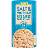 Asda Salt & Vinegar Rice Cakes 129g