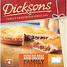 Dicksons Minced Beef and Onion Family Plate Pie 720g