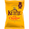 KETTLE Mature Cheddar & Red Onion British Potato Chips 40g