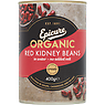 Epicure Organic Red Kidney Beans in Water 400g