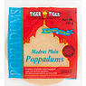 Tiger Tiger Authentic Indian Madras Plain Poppadums 250g