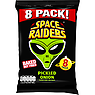 Space Raiders Pickled Onion Flavour Cosmic Corn Snacks 8 x 11.8g