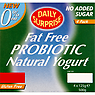 Daily Surprise Fat Free Probiotic Natural Yogurt 4 x 125g