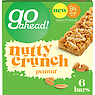 Go Ahead! 6 Nutty Crunch Peanut Bars 117g