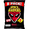 Space Raiders Beef Flavour Cosmic Corn Snacks 8 x 11.8g