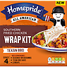 Homepride All American Southern Fried Chicken Wrap Kit Texan BBQ 490g