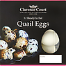 Clarence Court 12 Ready to Eat Quail Eggs 120g