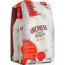 Archers Aqua Peach 4 X 275ml Bottles