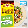 Old El Paso 8 Regular Flour Tortillas 326g