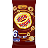 Hula Hoops BBQ Beef Flavour Potato Rings 6 x 24g