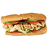 Subway Low Fat Chicken Breast Sub on 9 Grain Wheat Bread