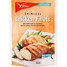 Valley Foods Skinless Chicken Fillets 750g