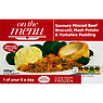 On the Menu Savoury Minced Beef Broccoli, Mash Potato & Yorkshire Pudding 250g