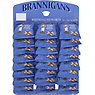 Brannigans Roasted Salted Peanuts Hanging Card 24 x 50g