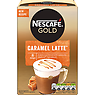 NESCAFE GOLD Caramel Latte Coffee, 8 Sachets x 17g