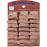 Brannigans Dry Roasted Peanuts Hanging Card 24 x 50g