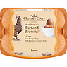 Clarence Court Mabel Pearmans's Burford Browns 6 Large Free Range Eggs