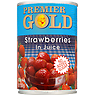 Premier Gold Strawberries in Juice 410g