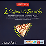 Stateside Foods 2 Stonebaked Cheese & Tomato Pizza Twin Pack 650g
