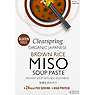 Clearspring Organic Japanese Brown Rice Miso Soup Paste 4 x 15g (60g)
