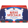 Biere Speciale French Lager 8x25cl