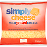 Simply Cheese Mild Grated Cheese 500g