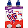 Glee Strawberry & Blueberry Mash-Up Natural Mineral Water Drinks 4 x 350ml