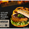 Flamehouse 12 Lamb Quarter Pounders with Mint 1.36kg