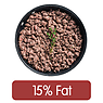 Beef Mince, 15% Fat, Fried without Oil
