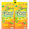 Growers Direct Organic Pure Orange Juice from Concentrate 4 x 1Litre