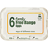 Noble Foods 6 Family Free Range Eggs