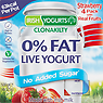 Irish Yogurts Clonakility 0% Fat Bio-Live Yogurt Strawberry 4 x 125g (500g)