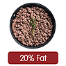Beef Mince, 20% Fat, Fried without Oil