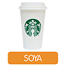 Starbucks Caffe Latte (Soya Milk)